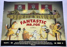 Fantastic Mr. Fox Silkscreen Movie Poster Print by Zeb Love Private Commision
