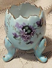 VINTAGE 1950's INARCO HAND PAINTED PORCELAIN EGG VASE - MADE IN JAPAN*