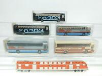 BD294-0,5# 5x Wiking H0/1:87 Bus Mercedes/MB RHD O 303: 712/1 + 712, NEUW+OVP