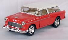 Diecast 1:40 1955 Chevrolet Nomad in red