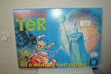 Menaces sur Tèr  Jeu d'aventure fantastique Eurogames Board game complet vintage