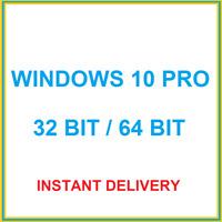 Windows 10 Pro Professional 32 / 64 Bit Produktschlüssel Product Key Code