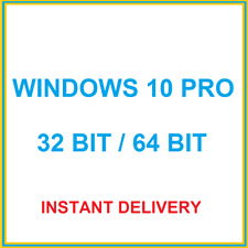 Windows 10 Pro -  32/ 64 Bit Win 10 Professional Activation Key Product Code