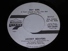 Jackey Beavers: Hey Girl (I Can't Stand To See You Go) Mono/Same Stereo 45 Soul