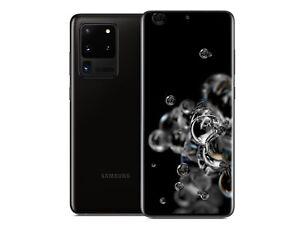 Samsung Galaxy S20 Ultra 5G SM-G988U - 128GB - Cosmic Black (Unlocked)