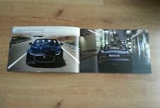 JAGUAR F-TYPE CONVERTIBLE 77 PAGE COLOUR BROCHURE F-TYPE S V6 V8 S
