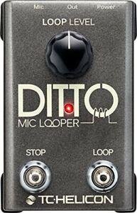 TC Helicon Gesang / Mikrofon Looper DITTO MIC LOOPER