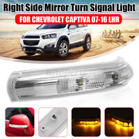 LHD Right LED Turn Signal Light Mirror Indicator For Chevrolet Captiva  *