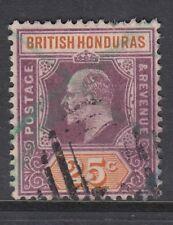 British Honduras 1904 EDVII 25c SG 89 used