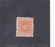 PORTUGUESE INDIA ´CROWN 200 REIS perf. 12,5 (1877)