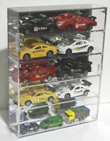 Clear Acrylic Display Case Stand Holder for 1/64 and 1/43 Scale Hot Wheels
