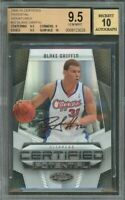 2009-10 certified potential signatures #20 BLAKE GRIFFIN rookie (POP 1) BGS 9.5