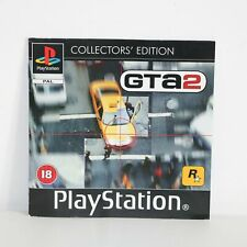 INSTRUCTION MANUAL PS1 PSONE GTA GRAND THEFT AUTO 2 GAME - COLLECTORS EDITION