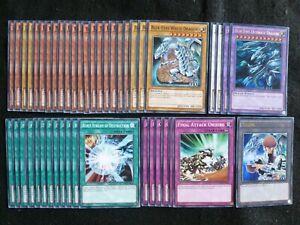 YU-GI-OH 44 CARD BLUE-EYES ULTIMATE DRAGON DECK  *READY TO PLAY*