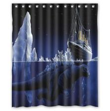 Titanic Godzilla Custom Bathroom Shower Curtain 60x72 Inches