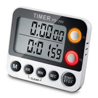 Küchenwecker Kurzzeitmesser LCD Digital Küchen Timer mit Hanger Magnet Eieruhr
