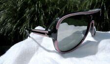 Vintage Japan Ski Sunglasses Pink Women's 1970s Japan Mirrored Reflective