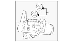 🔥 NEW Genuine Audi Master Cylinder 8R0611021C