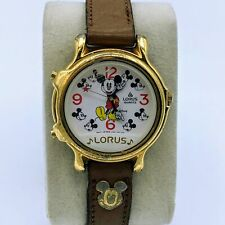 Lorus Walt Disney Musical Mickey Mouse Quartz Unisex Watch V422-011 R2 Running