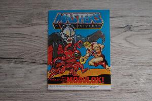 Mini Comic MOTU Masters of the Universe - The Treachery of MODULOK!