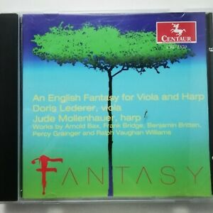 English Fantasy for Viola & Harp / Lederer / Mollenhauer / Centaur CD CRC 2570