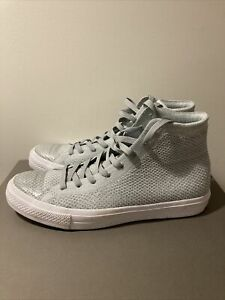 Mens Converse with Lunarlon Gray Hightop Casuals Size 10