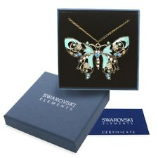 Collana oro Swarovski Element originale G4Love cristalli farfalla vintage regalo
