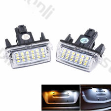 2x 18 LED License Plate Light Kit Canbus for Toyota Camry Yaris Corolla Avensis