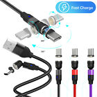 Magnetic USB Type C Fast Charger Charging Cable Data Sync Cord For Samsung LG