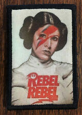Star Wars Princess Leia Rebel Morale Patch Tactical Military Army Badge Hook USA