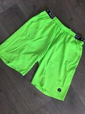 Bjorn Borg Fluoroscent Green Running Shorts Tennis Size L
