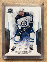 17-18 UD Upper Deck The Cup Base #90 BLAKE WHEELER /249