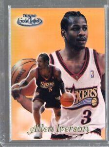 1999-00 Topps Gold Label Class 3 Black Label Allen Iverson #21