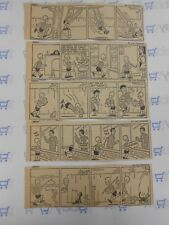 Lot of 5 Henry by Carl Anderson Comic Strips July 9th-14th, 1945
