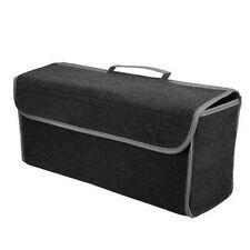 Gray Felt Cloth Auto Cargo Storage Organizer Bag Console Folding Bag New Arrival
