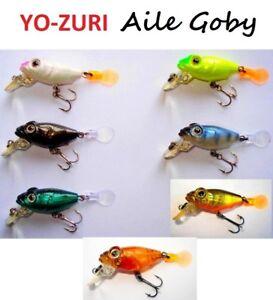 Yo-Zuri Aile Goby 0.0882oz Japan Wobbler, Bait, Killer, Trout, Perch, Fishing