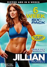 Jillian Michaels: Six Week Six Pack * NEW DVD * (Region 4 Australia)