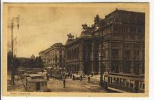 AK Wien I, Opernring, Strassenbahnen, 1920