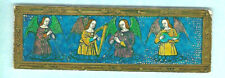 BOOKMARK Parnassus Gallery London Louis XII Triptych Angels V&A Museum Xmas Card