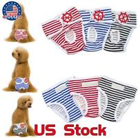 Washable Female Dog Puppy Pet Diapers Season Menstrual Sanitary Cotton Pants