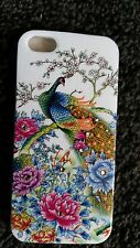 Galaxy S3 Phone Case Peacock Design Silicone Various Colours UK FAST & FREE