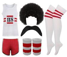 Adults Fancy Dress Stag 118 Costume Party Set Outfit Marathon Runner Vest Hen Do