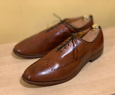 Allen Edmonds Fairfax Brown Brogue Oxford Shoes 14 D