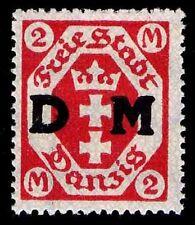 1921-22 GERMANY #O18 OFFICIAL 2M - GRAY PAPER - MOGH - VF - CV$14.00 (ESP#8940)