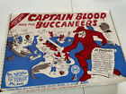 VERY RARE HTF MARX REISSUE 1991 CAPTAIN BLOOD AND THE BUCCANEERS PLAYSET MINT