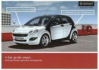 Prospekt 2004 Smart forfour 10 04 brochure Autoprospekt Auto PKWs Deutschland