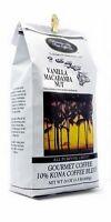 Vanilla Macadamia Nut Coffee 24 OZ Hawaiian Isles Kona Coffee Co. (ground)