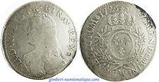 LOUIS  XV    ECU  ARGENT  AUX   BRANCHES  D' OLIVIERS   1726  M  TOULOUSE