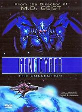 Genocyber: The Collection (DVD, 2000) US Manga Rare OOP Mecha LN
