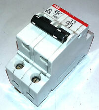 ABB S 62 S C 20 20 A MAGNETOTERMICO CIRCUIT BREAKER 2 POLOS